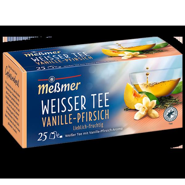 Weißer Tee Vanille-Pfirsich