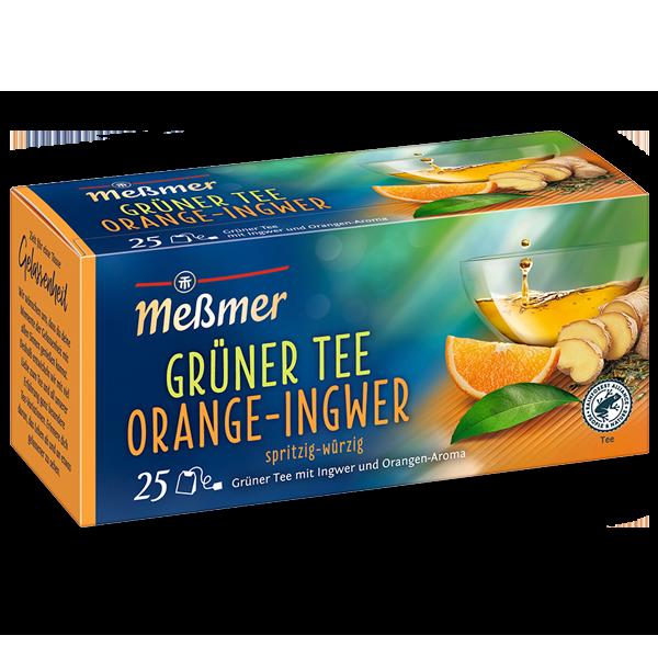 Grüner Tee Orange-Ingwer