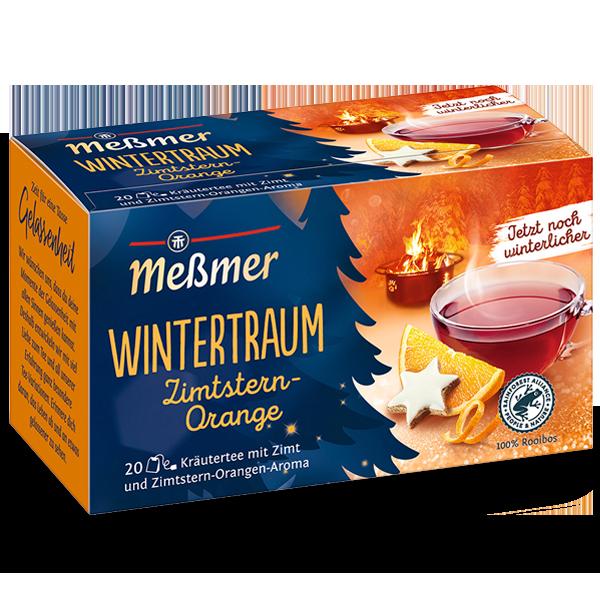 Wintertraum Zimtstern-Orange