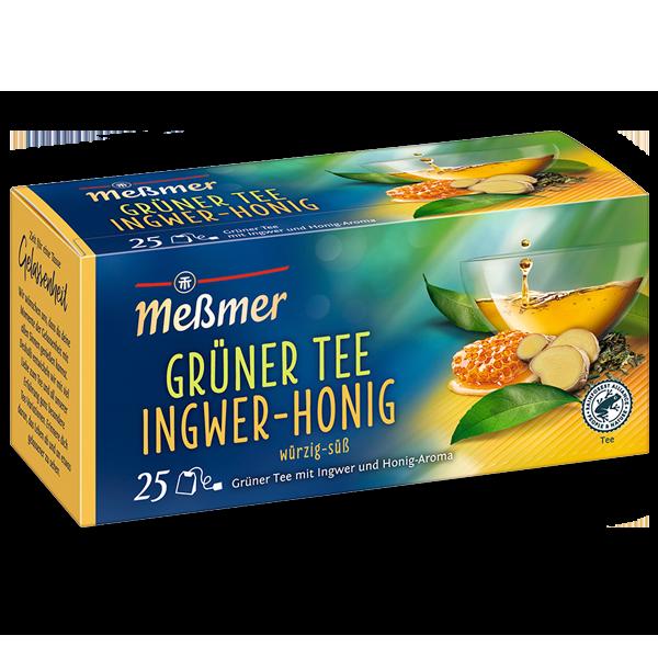 Grüner Tee Ingwer-Honig