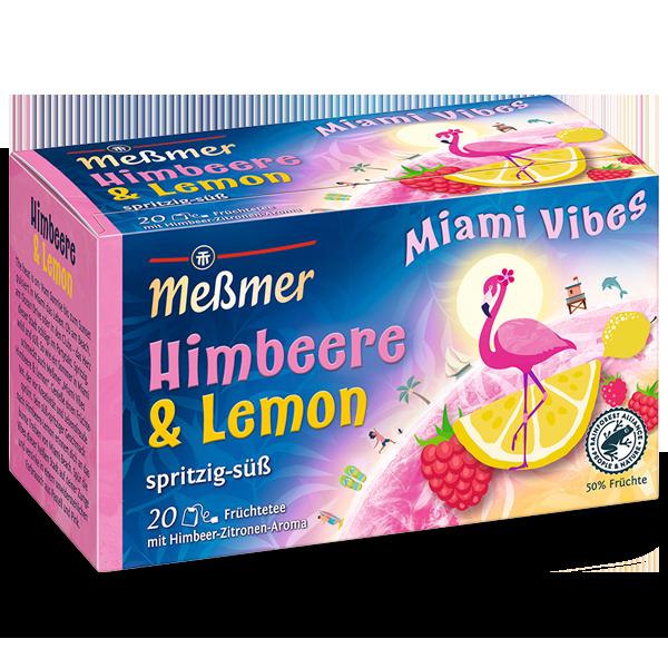 Miami Vibes Himbeere Lemon